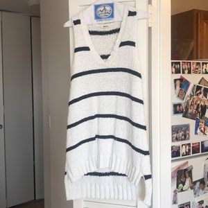 La made striped sweater